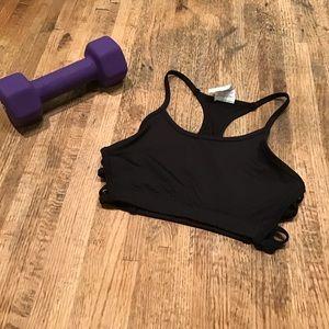 Energie Strappy black sports/exercise bra